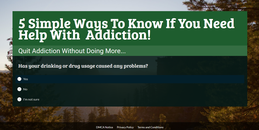 HOW TO KNOW IF YOU NEED ADDICTION HELP----> CLICK BELOW